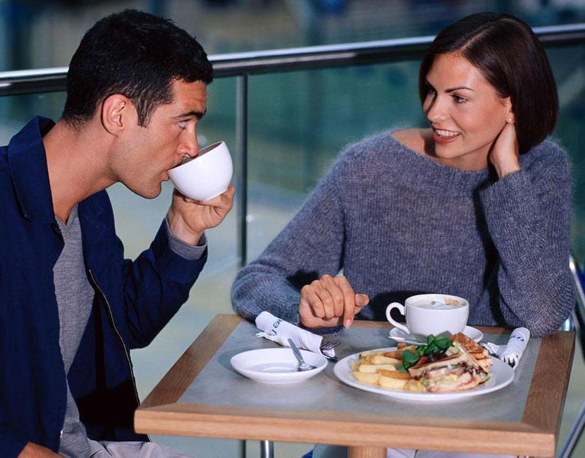 знакомство между мужчиной и женщиной диалог