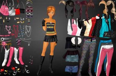 Игры одевалки или игры модельер
