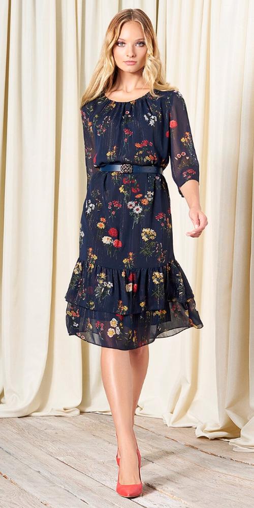 Платье из осенней коллекции Bazalini (Базалини) 2018