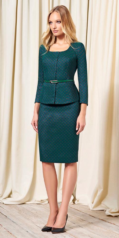 Жакет и юбка из осенней коллекции Bazalini (Базалини) 2018