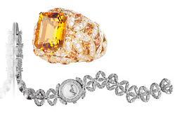 Кольцо и часы Daisy от Asprey