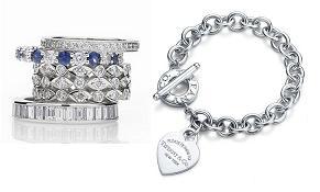 Кольца Celebrations и браслет Charme от Tiffany