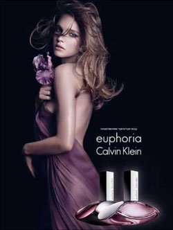 «Euphoria» от «Calvin Klein». Наталья Водянова