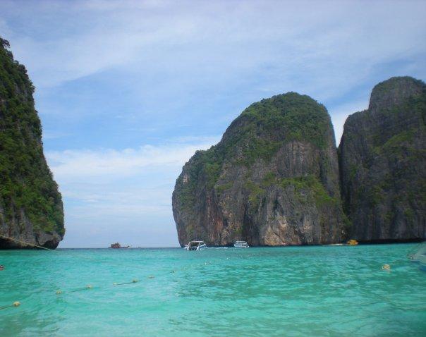 Лучший пляж мира Maya Bay (Майя Бэй), Таиланд