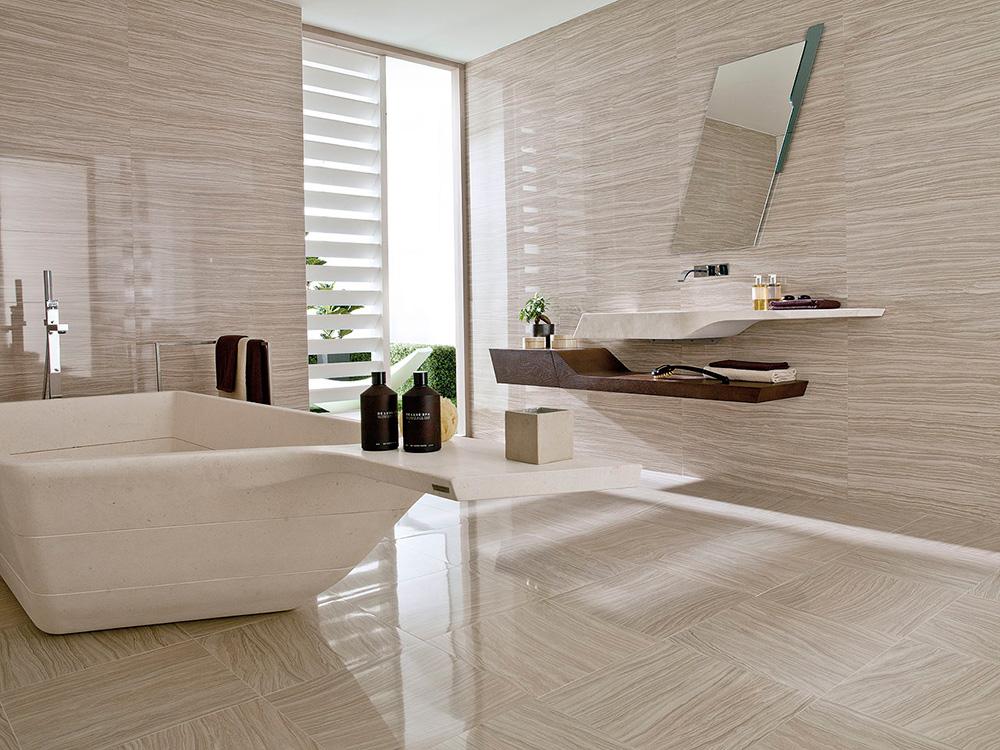 Испанская керамическая плитка в ванной