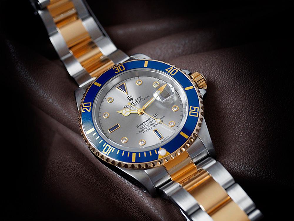 Оригинальные швейцарские часы Submariner